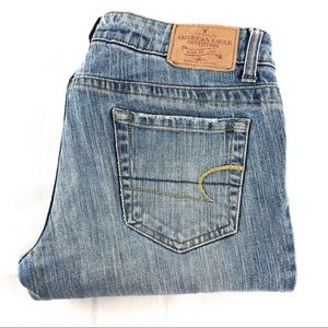 American Eagle Straight 77 Denim Jeans 8R